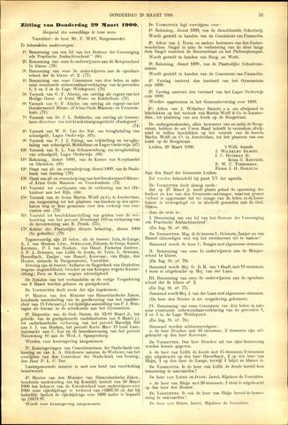 Handelingen van de Raad 1900-03-29