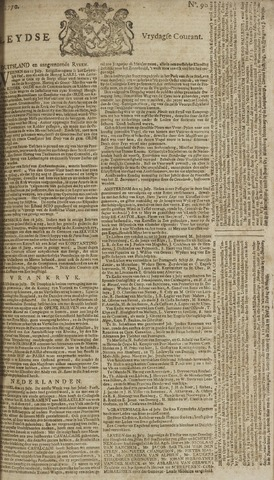Leydse Courant 1770-07-27