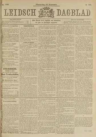 Leidsch Dagblad 1904-01-11