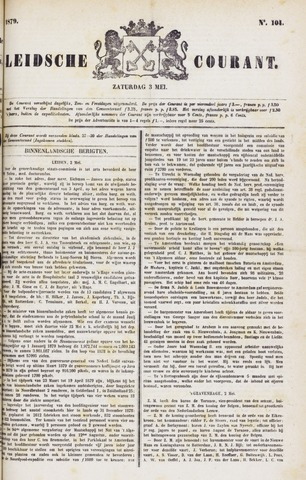 Leydse Courant 1879-05-03