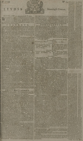 Leydse Courant 1749-05-05