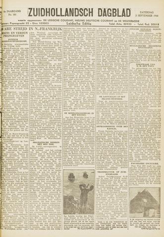 Zuidhollandsch Dagblad 1944-09-02