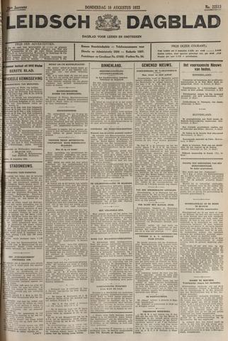 Leidsch Dagblad 1933-08-10