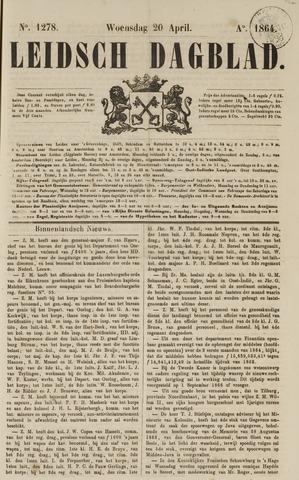 Leidsch Dagblad 1864-04-20