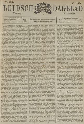 Leidsch Dagblad 1878-11-20