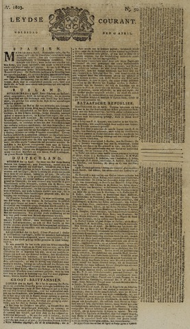 Leydse Courant 1803-04-27