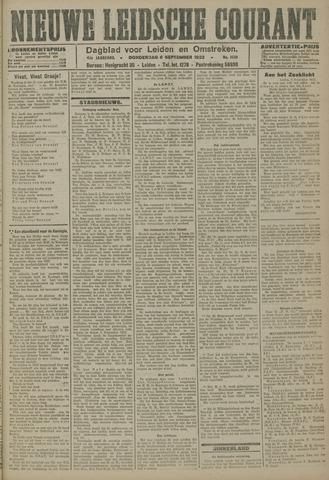 Nieuwe Leidsche Courant 1923-09-06