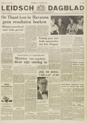 Leidsch Dagblad 1962-11-01