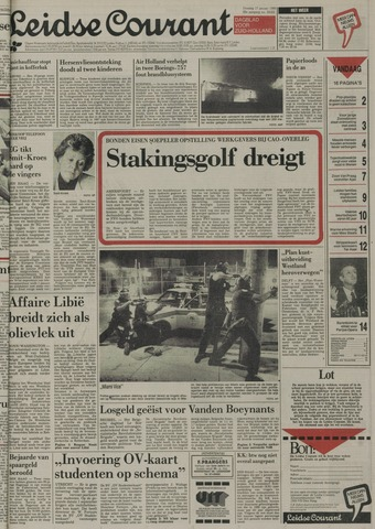 Leidse Courant 1989-01-17