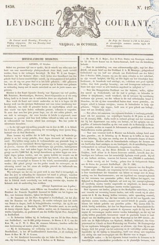 Leydse Courant 1850-10-18