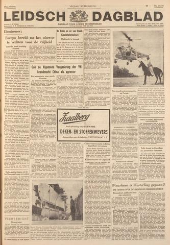 Leidsch Dagblad 1951-02-02