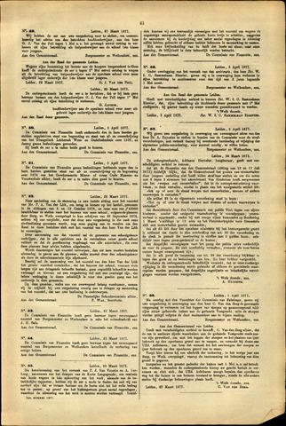 Handelingen van de Raad 1877-03-27