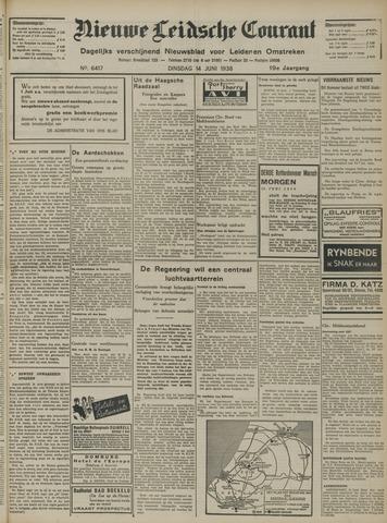 Nieuwe Leidsche Courant 1938-06-14