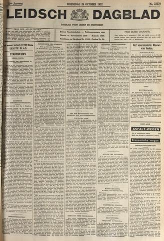 Leidsch Dagblad 1932-10-26