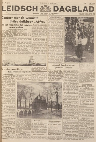 Leidsch Dagblad 1951-04-18