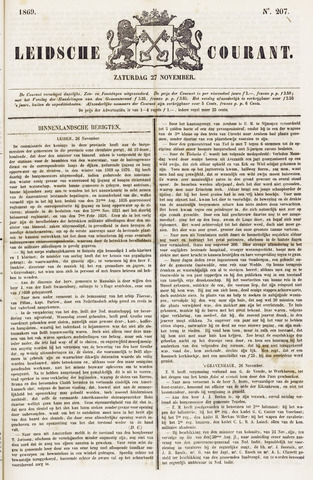 Leydse Courant 1869-11-27