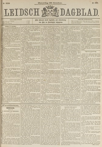 Leidsch Dagblad 1893-10-28