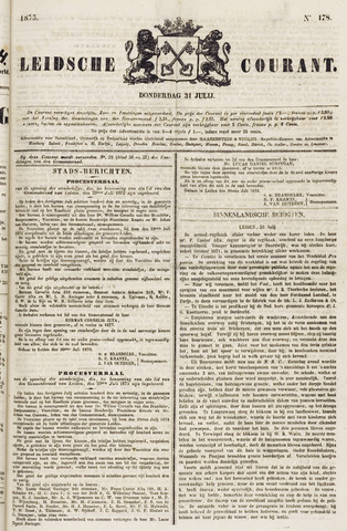 Leydse Courant 1873-07-31
