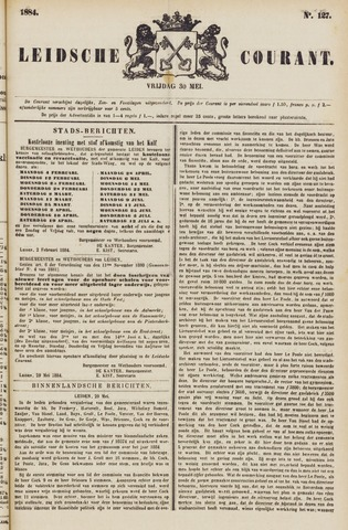 Leydse Courant 1884-05-30