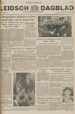 Leidsch Dagblad 1955-09-08