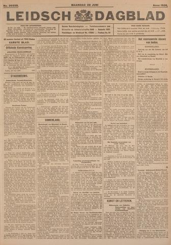 Leidsch Dagblad 1926-06-28