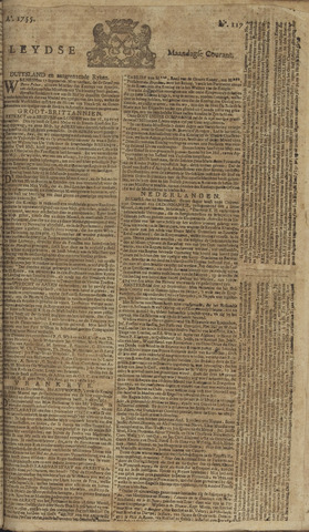 Leydse Courant 1755-09-29