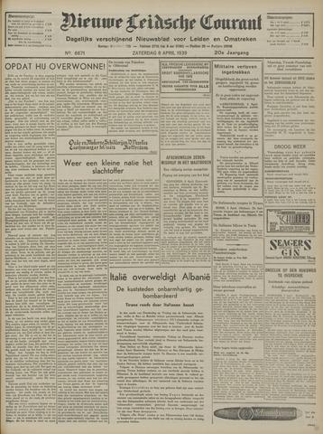Nieuwe Leidsche Courant 1939-04-08