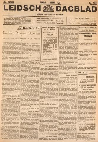 Leidsch Dagblad 1938-01-04