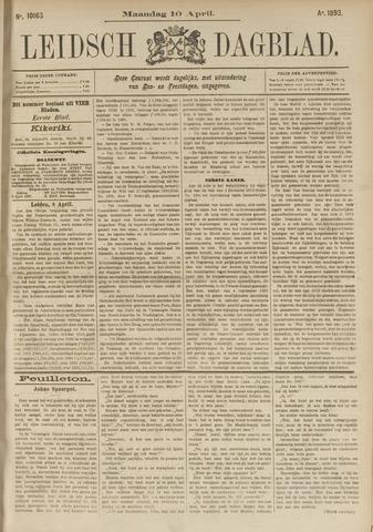 Leidsch Dagblad 1893-04-10