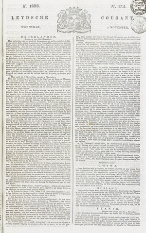 Leydse Courant 1838-11-07