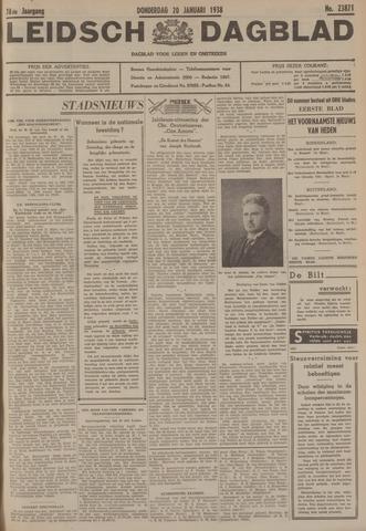 Leidsch Dagblad 1938-01-20