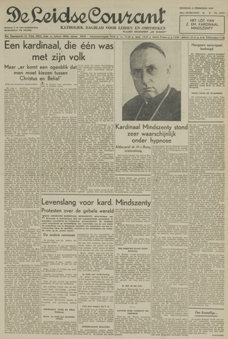 Leidse Courant 1949-02-08