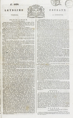 Leydse Courant 1838-08-17