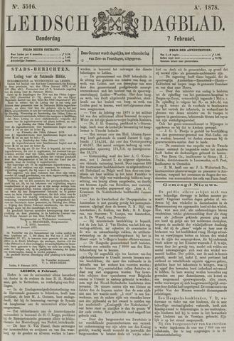 Leidsch Dagblad 1878-02-07
