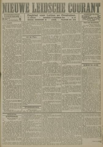 Nieuwe Leidsche Courant 1921-12-12