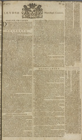 Leydse Courant 1772-03-30
