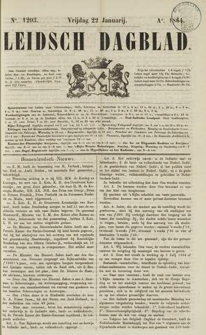 Leidsch Dagblad 1864-01-22