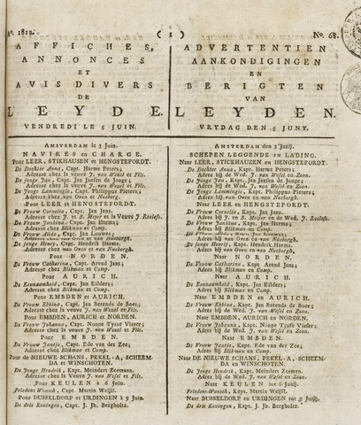 Leydse Courant 1812-06-05