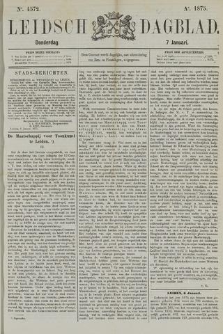 Leidsch Dagblad 1875-01-07