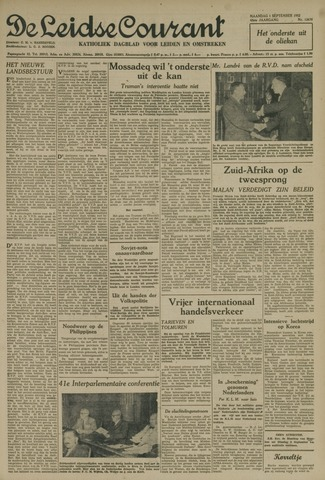 Leidse Courant 1952-09-01