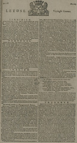 Leydse Courant 1728-08-27