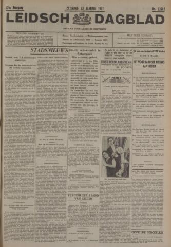 Leidsch Dagblad 1937-01-23