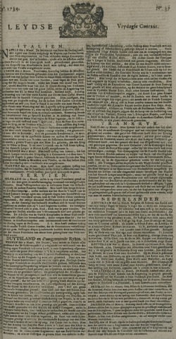 Leydse Courant 1734-03-26
