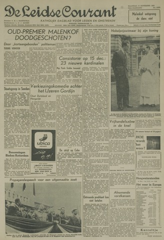 Leidse Courant 1958-11-17