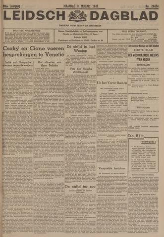 Leidsch Dagblad 1940-01-08