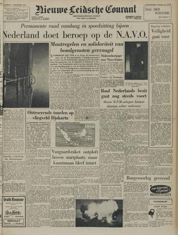 Nieuwe Leidsche Courant 1957-12-07