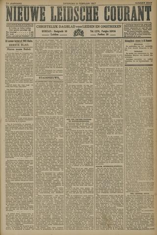 Nieuwe Leidsche Courant 1927-02-12