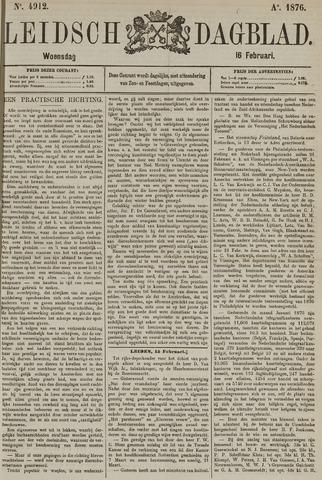 Leidsch Dagblad 1876-02-16