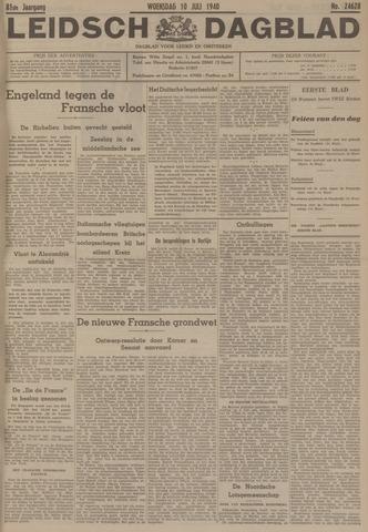 Leidsch Dagblad 1940-07-10