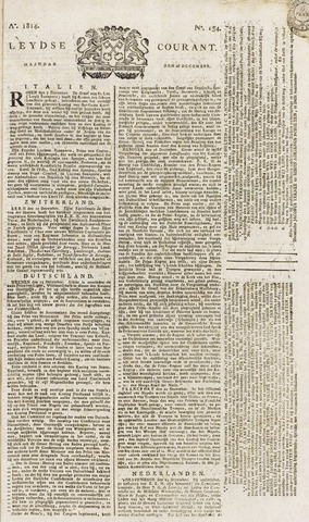 Leydse Courant 1814-12-26